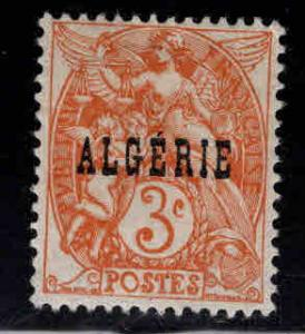 ALGERIA Scott 3 MH* stamp