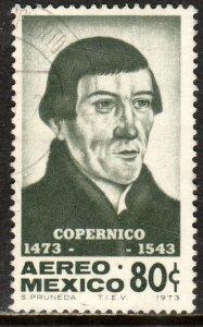 MEXICO C416 500th Anniv Birth of Astronomer N. Copernicus Used VF. (557)