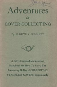 Adventures in Cover Collecting, by E.V. Connett SB  2;0