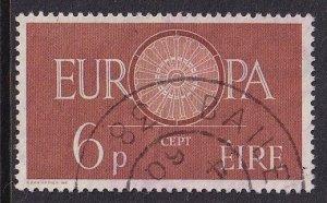Ireland   #175  used  1960   Europa     6p