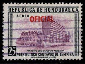 Honduras  Scott Co80 Used official airmail