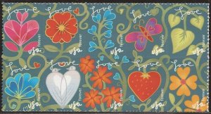 US Stamp 2011 Garden of Love - Block of 10 Forever Stamps #4531-40