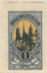 Central Lithuania Mittellitauen Lituanie Lituania 1921 1m MH* A8P11F120