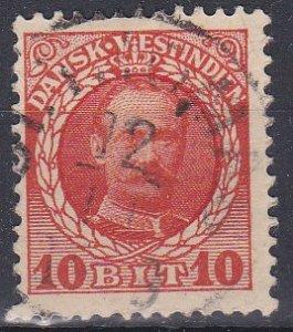 Danish West Indies Sc #44 Used