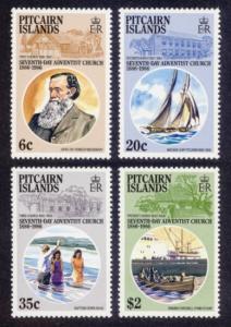 Pitcairn Islands Sc# 277-80 MNH 7th Day Adventist Church