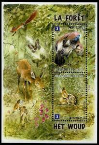 HERRICKSTAMP BELGIUM Sc.# 2528 Europa 2011 Stamp Souvenir Sheet Mint NH