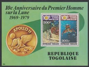 Togo 10th Anniversary of First Moon Landing MS SG#MS1399 SC#C401a