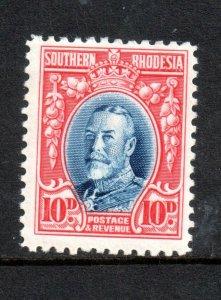 Southern Rhodesia 1931 10d Perf 11.5 mint MH SG22A WS18396