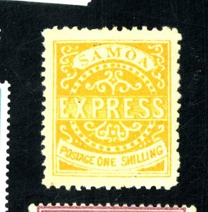 SAMOA #6C MINT FVF OG LG HR Cat $110