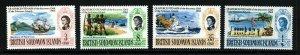 SOLOMON ISLANDS QE II 1968 Quatercentenary of Discovery Set SG 162 to SG 166 MNH