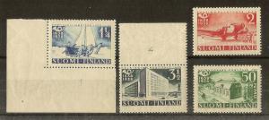 Finland 1938 Postal Tercent Plate 1/Plate 4
