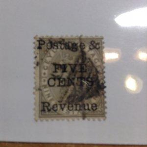 Ceylon  # 100  Used