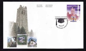 Canada-Sc#1974-stamp on FDC-University of Western Ontario-2003-