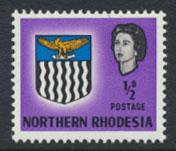 Northern Rhodesia  SG 75 SC# 75 MNH  see detail and scan
