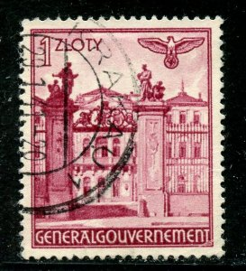 Poland # N71, Used. CV $ 1.25