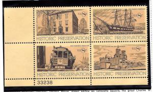 1443a Mint,OG,NH... Plate Block of 4... SCV $1.00