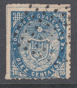 GUATEMALA  An old forgery of a classic stamp................................C928