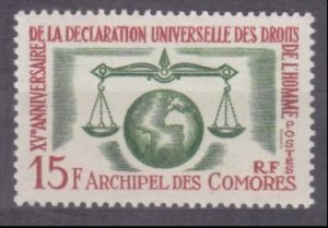 1963 Comoro Islands 54 15 years Universal Declaration of Human Rights 10,00 €