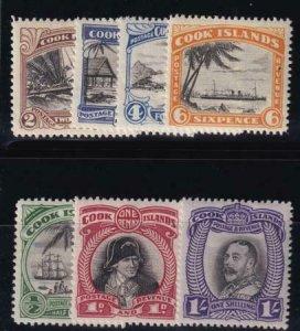 Cook Islands 1931 SC 80-83 MLH Set