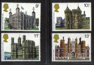 Great Britain 1978 MNH Historic Buildings