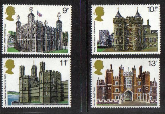 Great Britain 1978 MNH Historic Buildings