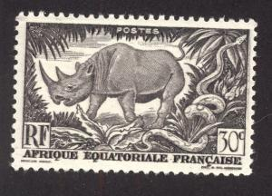 French Equitorial Africa 167 MNH