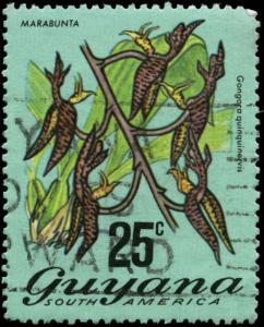 Guyana Scott #141 Used