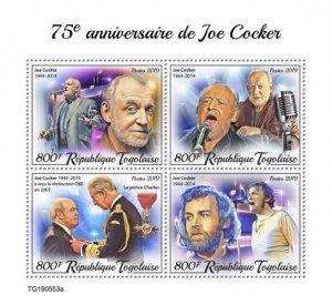 TOGO 05 11 2019 Code: TG190544a-TG190564b. Joe Cocker