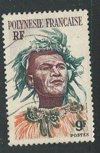 French Polynesia ||  Scott # 188 - Used