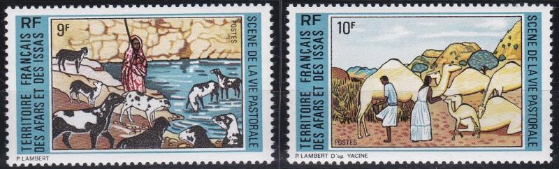Afars and Issas 362-363 MNH (1973)