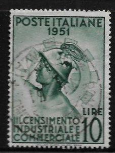 ITALY 590 USED ROMAN CENSUS