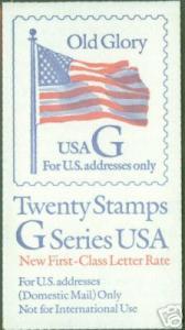 USA Scott 2885a 1994 RED G Booklet BC106 CV $17.00