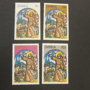 Zambia 1980 Sc 228-31 Christmas Religion set MNH