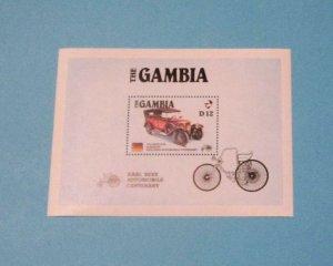 Gambia - 628, MNH S/S. AMERIPEX '86. SCV - $6.50