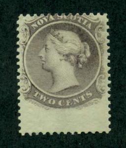 Nova Scotia 1860 SC# 9 MNH SCV (2014) = $12.00