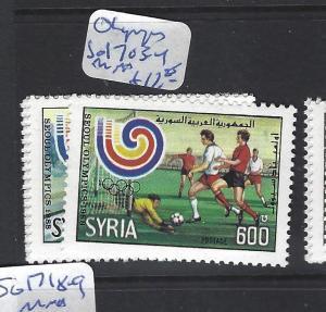 SYRIA   (PP0410B)    SG  1703-4    MNH