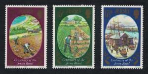 Jersey Centenary of Jersey Royal Potato 3v SG#230-232