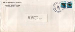 Caroline Islands 10c Hawksbill Turtle (2) 1983 Koror RP, 96940 to New Orleans...