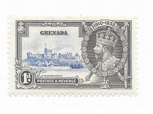 Grenada #125 MH CAT Value $1.25