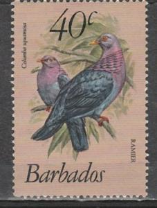 #571 Barbados Mint NH