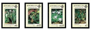 Seychelles 524-27 MNH 1983 Paintings of Marianne North