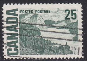 Canada 465 Hinged Used 1967 Solemn Land
