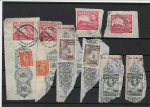 commonwealth on piece stamps ref 16370