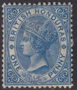 British Honduras 1884 SC 13 Mint