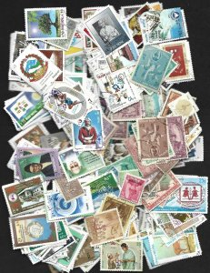 Nepal Collection of 400 Different Stamps - Used