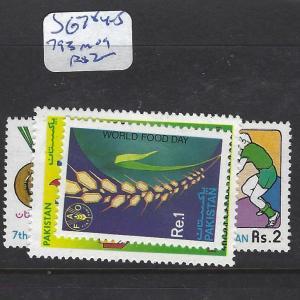 PAKISTAN (P2710B) SG  784-5,  793     MOG