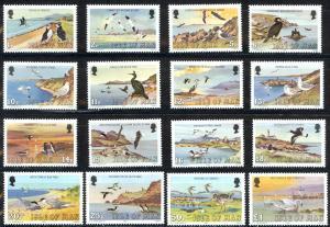 Isle of Man Sc# 224-239 MNH 1983 Birds