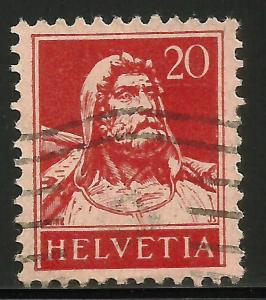 Switzerland 1925 Scott# 176 Used