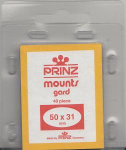 PRINZ BLACK MOUNTS 50X31 (40) RETAIL PRICE $3.99