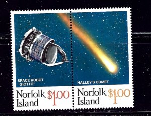 Norfolk Is 381 MNH 1986 Halley's Comet    (ap2115)